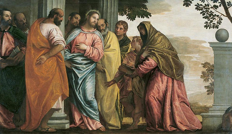 Cristo entre fariseos