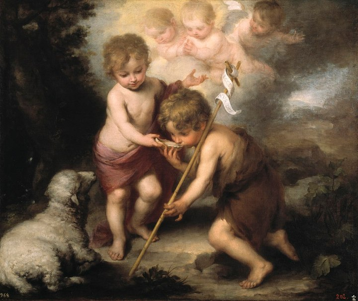Jesu y Juan Bautista