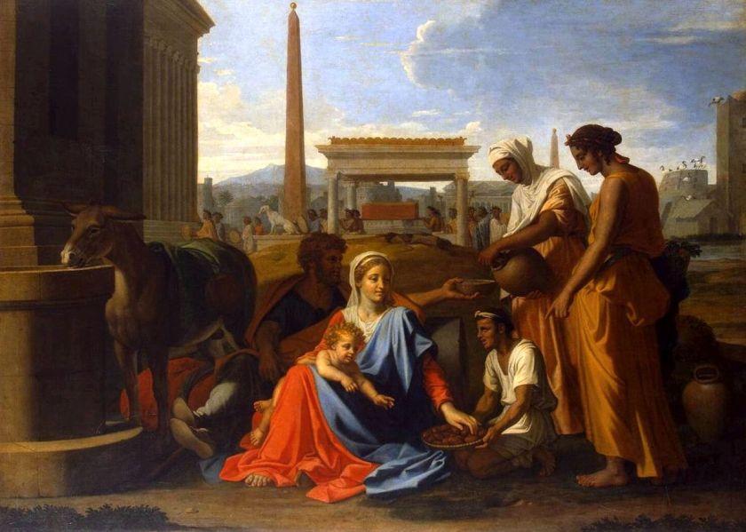 Sagrada Familia Egipto Nicolas Poussin