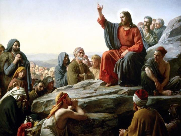 Sermon de la Montaña - Carl Bloch