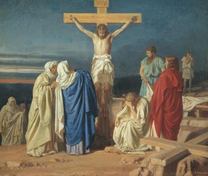 Crucifixión, Evgraf Sorokin