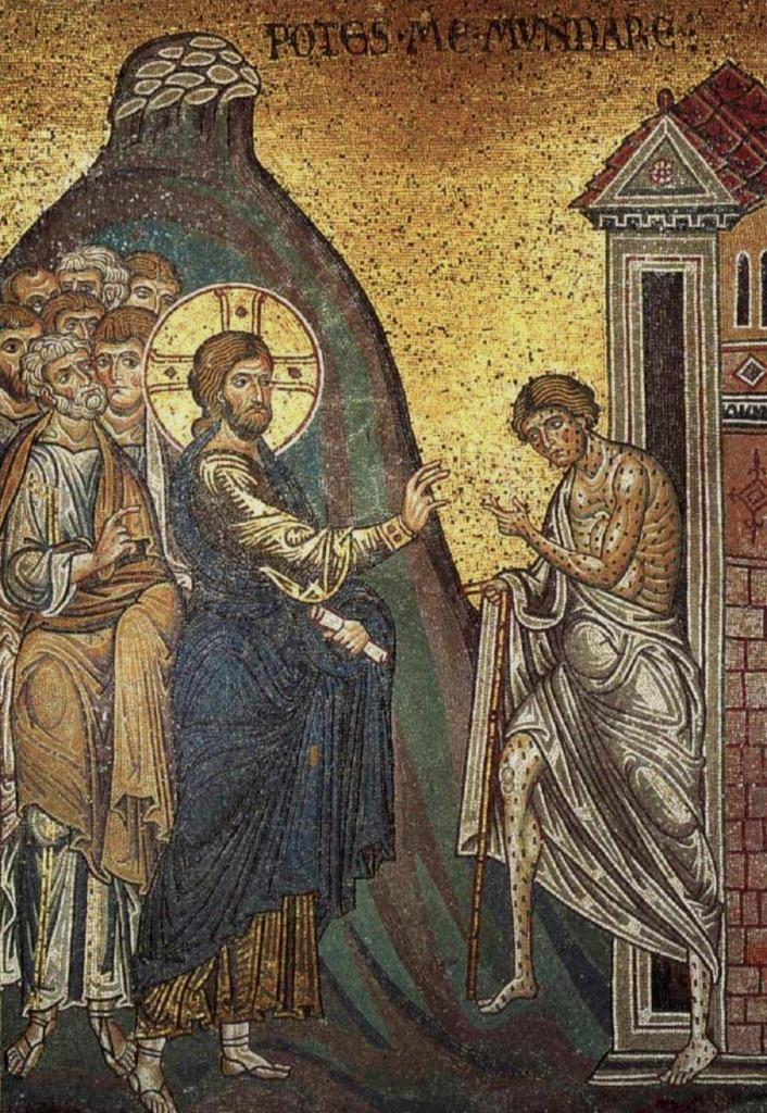 Cristo-limpia-al-leproso-Monreale