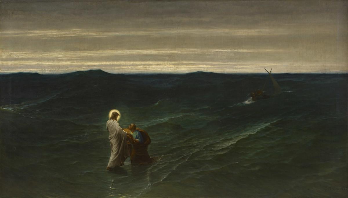 jesus-y-pedro-sobre-agua-brion
