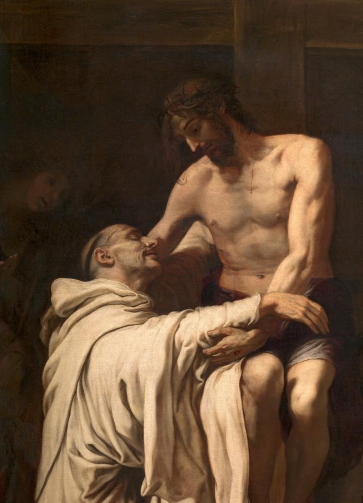 Cristo-abrazando-a-san-bernardo-francisco-ribalta