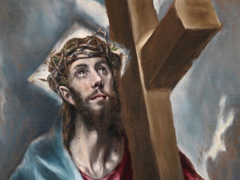 cristo-abrazado-cruz-greco-detalle