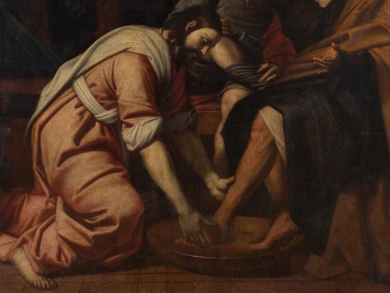 jesus-lavando-pies-san-pedro-detalle